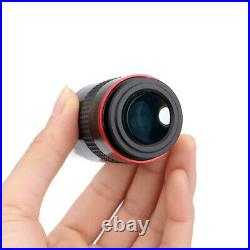 1.25 68-Deg Ultra Wide Angle 6mm/9mm/15mm/20mm Eyepiece for Astro Telescope