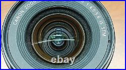 12x LOT SCRATCH FOGGY AS-IS Canon EF-S 10-18mm F/4.5-5.6 IS STM Lens Auto/Manual