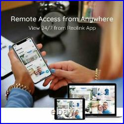16CH Ultra HD 4K POE IP Security Camera System 8MP NVR Kit 3TB HDD RLK16-800B8