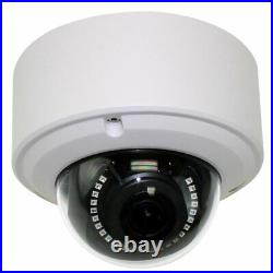 8MP 2160p Ultra HD 4K IP 2.8-12mm Varifocal Zoom PoE IP Dome PoE Security Camera