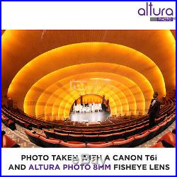 Altura Photo 8MM f/3.0 Fisheye Lens for Canon Ultra Wide Angle Aspherical Lens