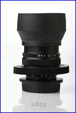 Anamorphic flare Bokeh Lens 37 mm F2,8 Mir 1v 1b Cine CANON EF mount Wide Angle