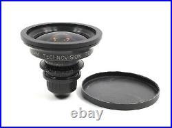 Arri Zeiss Arriflex 12mm T2.1 Standard Speed Wide Angle Prime PL Mount Lens Red