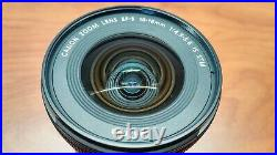 B GRADE Canon EF-S 10-18mm F/4.5-5.6 IS STM Lens Auto/Manual Focus Stabilizer