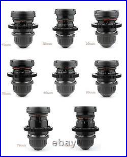 BUY or RENT LOMO 8x Lens Set 18 22 28 35 40 50 75 100 with ARRI PL Mount