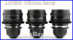 BUY or RENT LOMO 9x Lens Set 10 18 22 28 35 50 75 100 150 with ARRI PL Mount