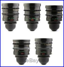 BUY or RENT Lomo ILLUMINA 5x Super Speed Lens Set 18 25 35 50 85 ARRI PL Mount