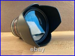 Barely Used, Rokinon 12mm f2.0 Sony E-Mount Complete withBox