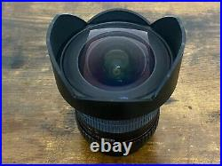Barely Used Rokinon 14mm F2.8 Ultra Wide Angle Lens for Canon