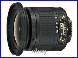 Brand New Unused Nikon AF-P DX NIKKOR 10-20mm F4.5-5.6 G VR Wide Angle Zoom Len