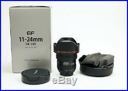 Canon EF 11-24mm f/4 L USM Lens Sharp! USA Model