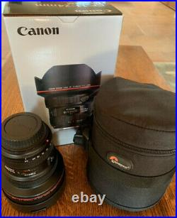 Canon EF 11-24mm f/4L USM Ultra-Wide Zoom Lens Excellent Condition