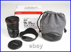 Canon EF 16-35mm f/2.8 L II USM Lens Black