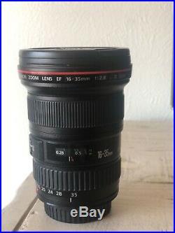 Canon EF 16-35mm f/2.8 L II USM Lens EXCELLENT