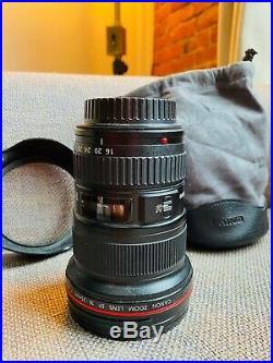 Canon EF 16-35mm f/2.8 L II USM Lens (with lens hood, bag & hoya hd uv filter)