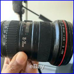 Canon EF 16-35mm f/2.8 L II USM Lens withLens Hood and Case Great Condition