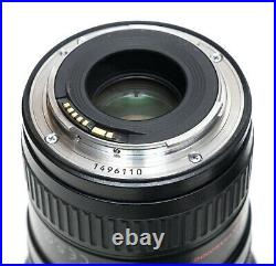 Canon EF 16-35mm f/2.8 L II USM Lens withbag, box, manual, hood, caps, free ship