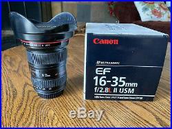 Canon EF 16-35mm f/2.8 L USM II Lens