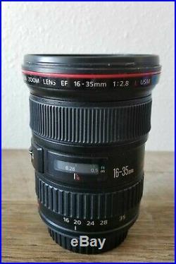 Canon EF 16-35mm f/2.8 L USM Lens