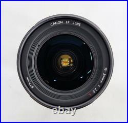 # Canon EF 16-35mm f/2.8 L USM Lens S/N 705035