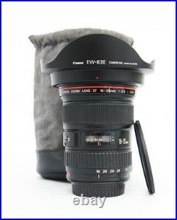 # Canon EF 16-35mm f/2.8 L USM Lens S/N 78974