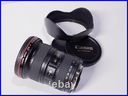 Canon EF 16-35mm f/2.8 L USM Prime Zoom Lens, USED