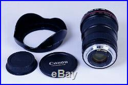 Canon EF 16-35mm f/2.8L II USM Ultra Wide Angle Zoom Lens in excellent condition