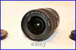 Canon EF 16-35mm f/4 L IS USM Lens Black (9518B002) In Box