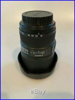 Canon EF 16-35mm f/4 L IS USM Lens Black (9518B002) MINT CONDITION