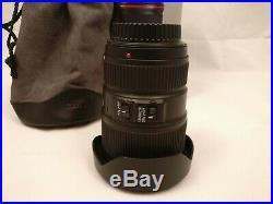 Canon EF 16-35mm f/4 L IS USM Lens Excellent Condition, Box, Caps, Hood, Pouch
