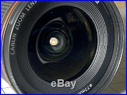 Canon EF 16-35mm f/4 L IS USM Lens Needs Repair! Optics Are Scratch Free