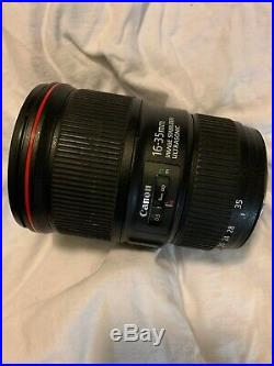 Canon EF 16-35mm f/4L IS USM Lens USED