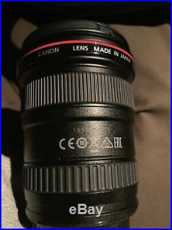 Canon EF 17-40 mm f/4 L USM EOS Camera Wide Angle Zoom Lens