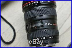 Canon EF 17-40 mm f/4 L USM Lens MINT
