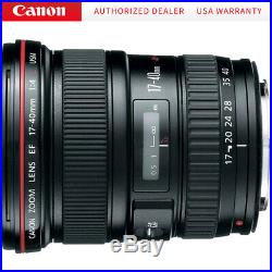Canon EF 17-40mm F/4L USM Ultra Wide Angle Zoom Lens with 1-Year USA Warranty