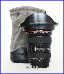 Canon EF 17-40mm f/4 L USM Lens Wide Angle Zoom AF Lens for EOS