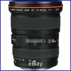 Canon EF 17-40mm f/4L USM Lens 8806A002