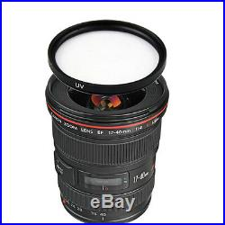 Canon EF 17-40mm f/4L USM Lens with77mm UV Filter