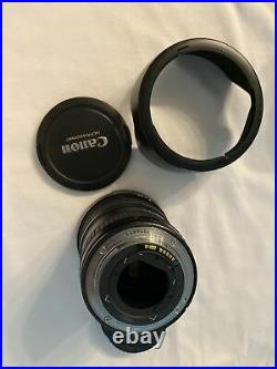 Canon EF 17-40mm f/4L Ultra Wide Angle Zoom Lens Black