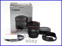 Canon EF 8-15mm 8-15 f/4L f4 L Fisheye Fish Eye Ultra Wide Angle READ NOTES