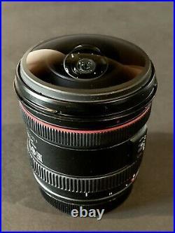Canon EF 8-15mm f/4L Fisheye USM Ultra-Wide Zoom Lens