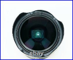 Canon EF 8-15mm f/4L Fisheye USM Ultra-Wide Zoom Lens (READ Notes)