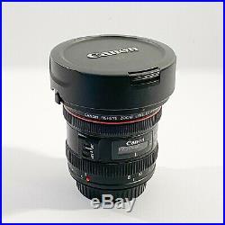 Canon EF 8-15mm f/4L Fisheye USM Ultra-Wide Zoom Lens with cap & hood