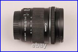 Canon EF-S 10-18mm F/4.5-5.6 IS STM Lens (9519B002) GOOD CONDITION, NICE PRICE