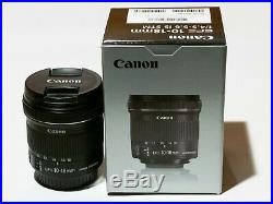 Canon EF-S 10-18mm F/4.5-5.6 IS STM Lens Excellent