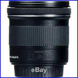 Canon EF-S 10-18mm F/4.5-5.6 IS STM Lens + Lens Cleaning Pen + Cleaning Cloth