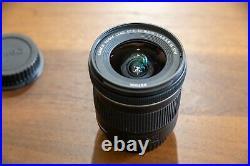 Canon EF-S 10-18mm F/4.5-5.6 IS STM Lens, original ower, original package