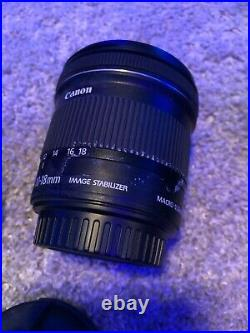 Canon EF-S 10-18mm f/4.5-5.6 IS STM Lens, Ultrawide, Close Up, Tested, C-Stock