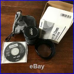 Canon EF-S 10-22mm f/3.5-4.5 AF EF-S USM Lens Used