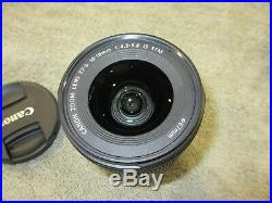 Canon Ef-s 10-18mm F4.5-5.6 Is Stm Zoom Lens Excellent+